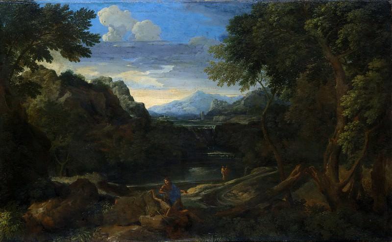 Gaspard Dughet - Imaginary Landscape. Metropolitan Museum: part 3