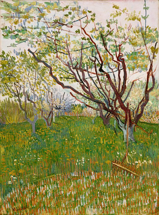 The Flowering Orchard. Vincent van Gogh