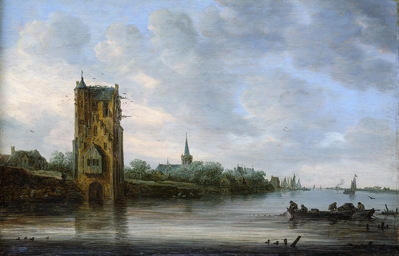 Jan van Goyen - The Pelkus Gate near Utrecht. Metropolitan Museum: part 3