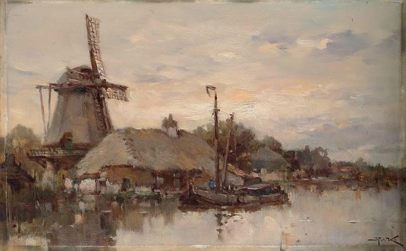 Herman Willem Koekkoek - Mill on the Laan. Metropolitan Museum: part 3