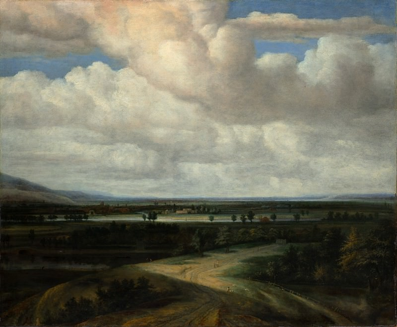 Philips Koninck - A Panoramic Landscape with a Country Estate. Metropolitan Museum: part 3