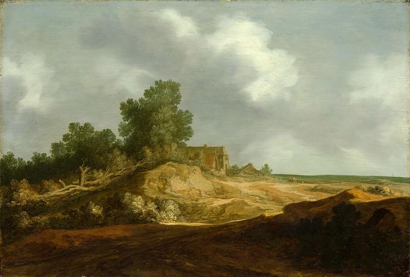 Pieter de Molijn - Landscape with a Cottage. Metropolitan Museum: part 3