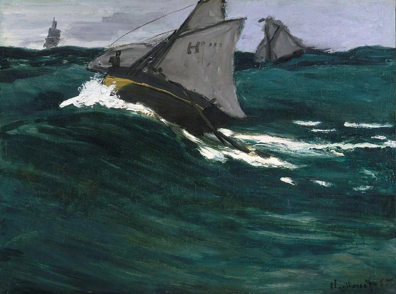 Claude Monet - The Green Wave. Metropolitan Museum: part 3