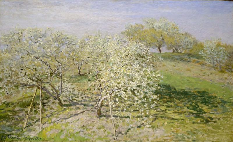 Claude Monet - Spring (Fruit Trees in Bloom). Metropolitan Museum: part 3