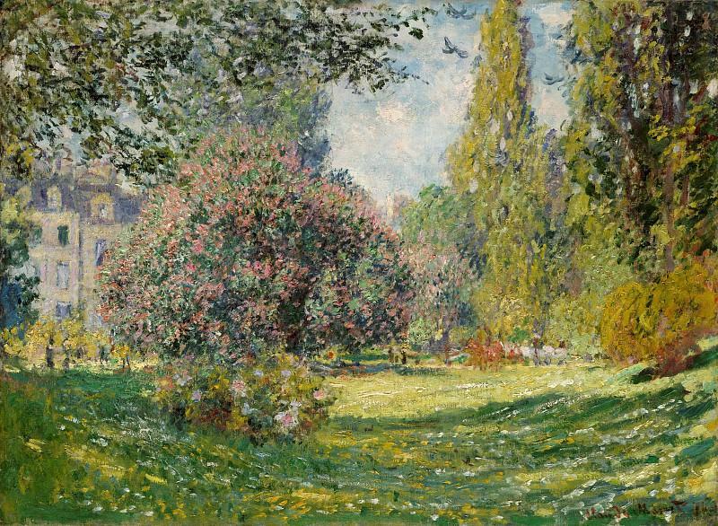 Claude Monet - Landscape: The Parc Monceau. Metropolitan Museum: part 3