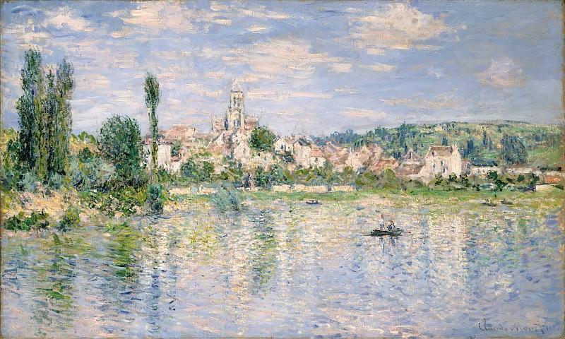 Claude Monet - Vétheuil in Summer. Metropolitan Museum: part 3