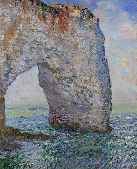 Claude Monet - The Manneporte near Étretat. Metropolitan Museum: part 3