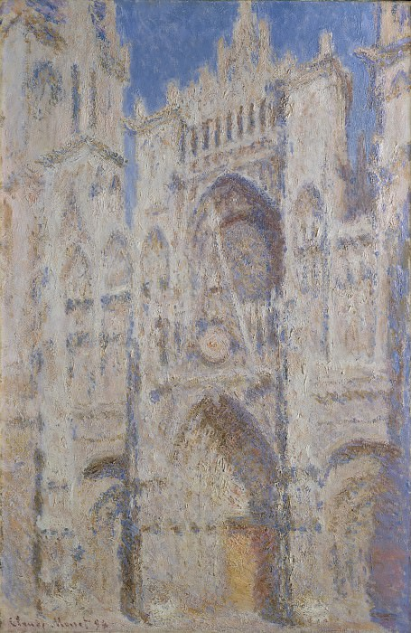 Claude Monet - Rouen Cathedral: The Portal (Sunlight). Metropolitan Museum: part 3