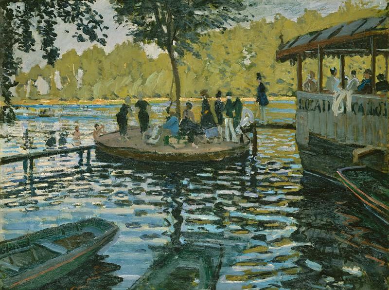Claude Monet - La Grenouillère. Metropolitan Museum: part 3