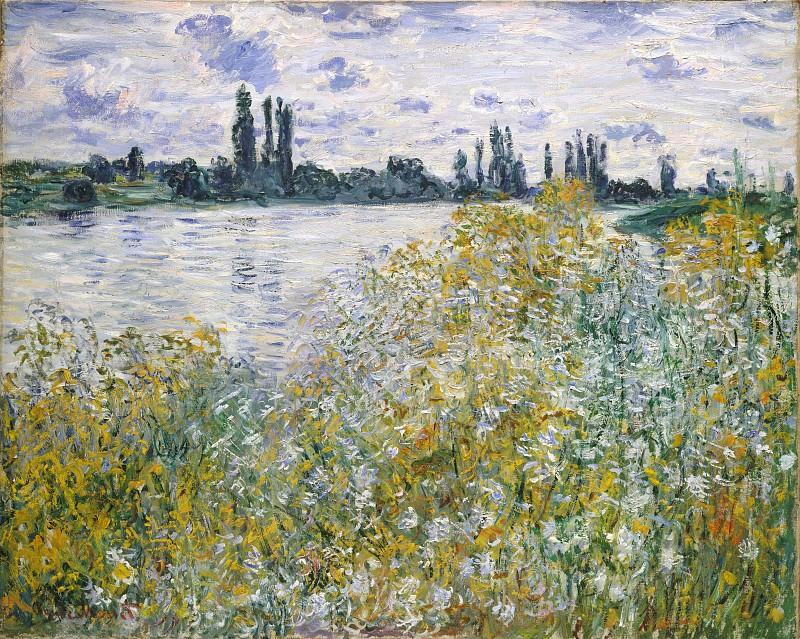 Claude Monet - Île aux Fleurs near Vétheuil. Metropolitan Museum: part 3
