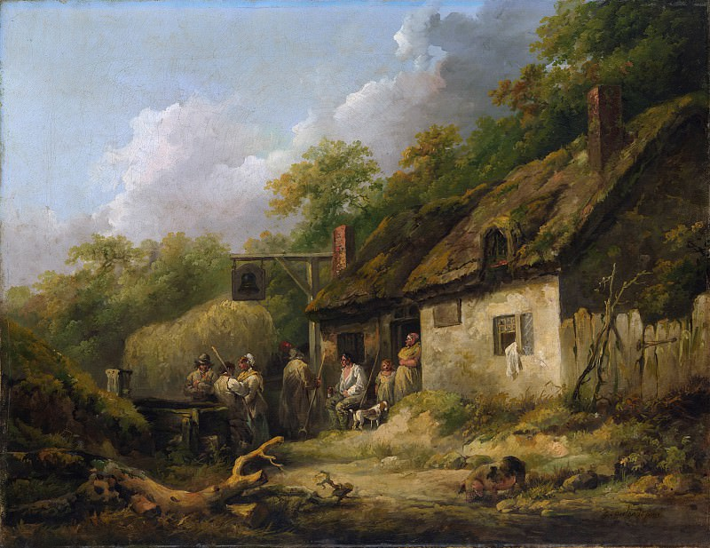 George Morland - The Bell Inn. Metropolitan Museum: part 3