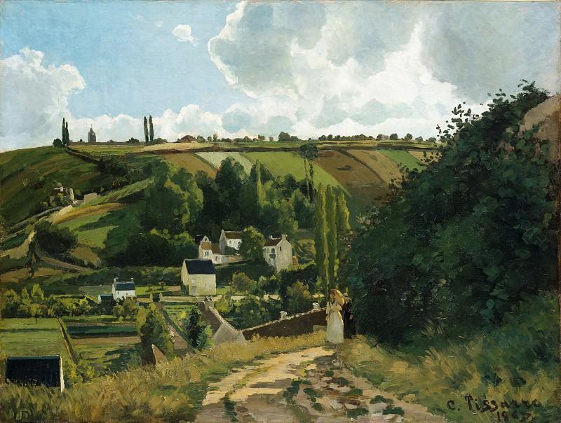 Camille Pissarro - Jalais Hill, Pontoise. Metropolitan Museum: part 3