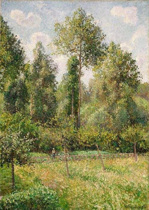 Camille Pissarro - Poplars, Eragny. Metropolitan Museum: part 3