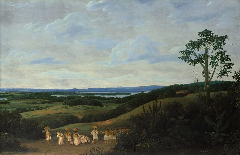 Frans Post - A Brazilian Landscape. Metropolitan Museum: part 3