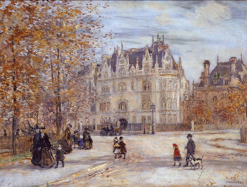 Jean-François Raffaëlli - The Fletcher Mansion, New York City. Metropolitan Museum: part 3
