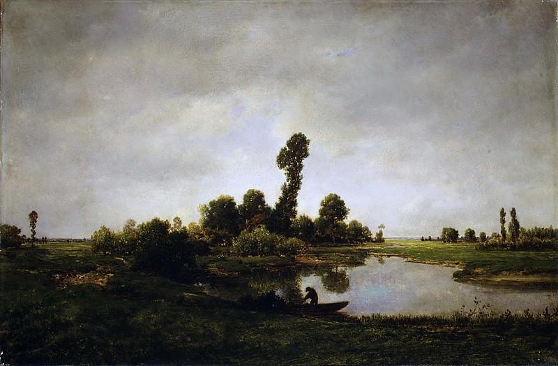 Théodore Rousseau - A River Landscape. Metropolitan Museum: part 3