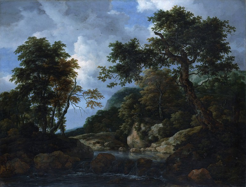 Jacob van Ruisdael - The Forest Stream. Metropolitan Museum: part 3