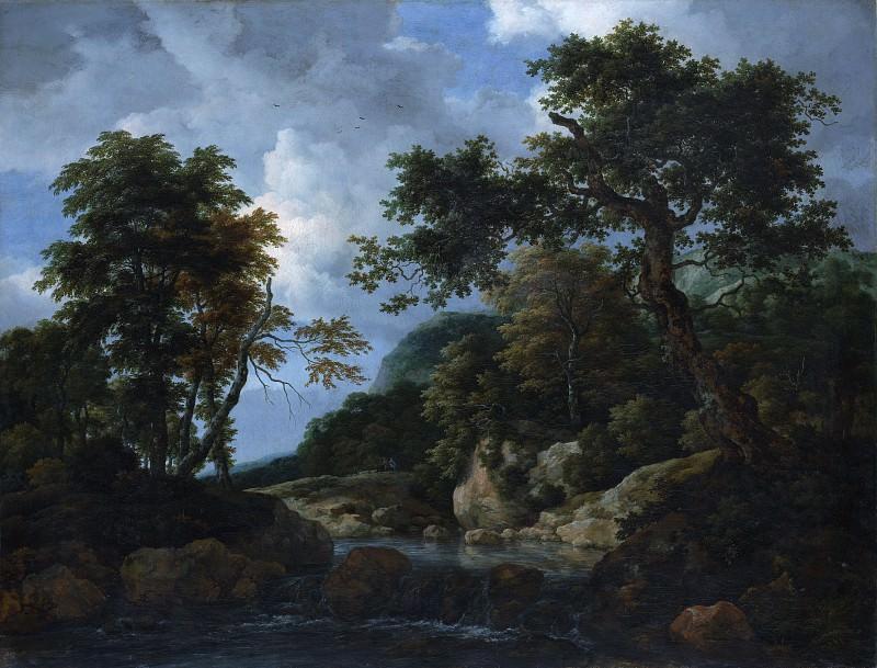 Якоб ван Рейсдаль - Лесной ручей. Музей Метрополитен: часть 3