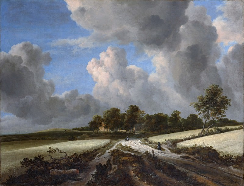 Jacob van Ruisdael - Wheat Fields. Metropolitan Museum: part 3