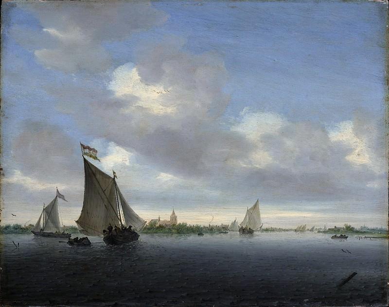 Salomon van Ruysdael - Marine. Metropolitan Museum: part 3