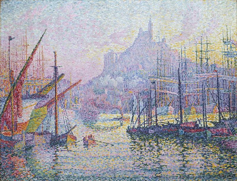 Paul Signac - Notre-Dame-de-la-Garde (La Bonne-Mère), Marseilles. Metropolitan Museum: part 3
