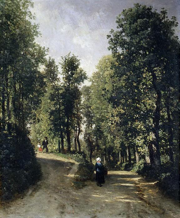 Constant Troyon - Road in the Woods. Metropolitan Museum: part 3