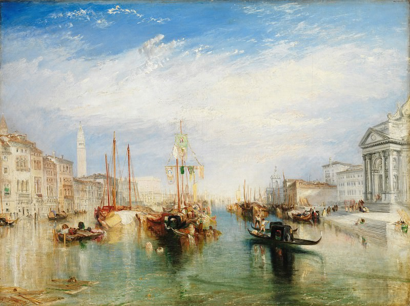Joseph Mallord William Turner - Venice, from the Porch of Madonna della Salute. Metropolitan Museum: part 3