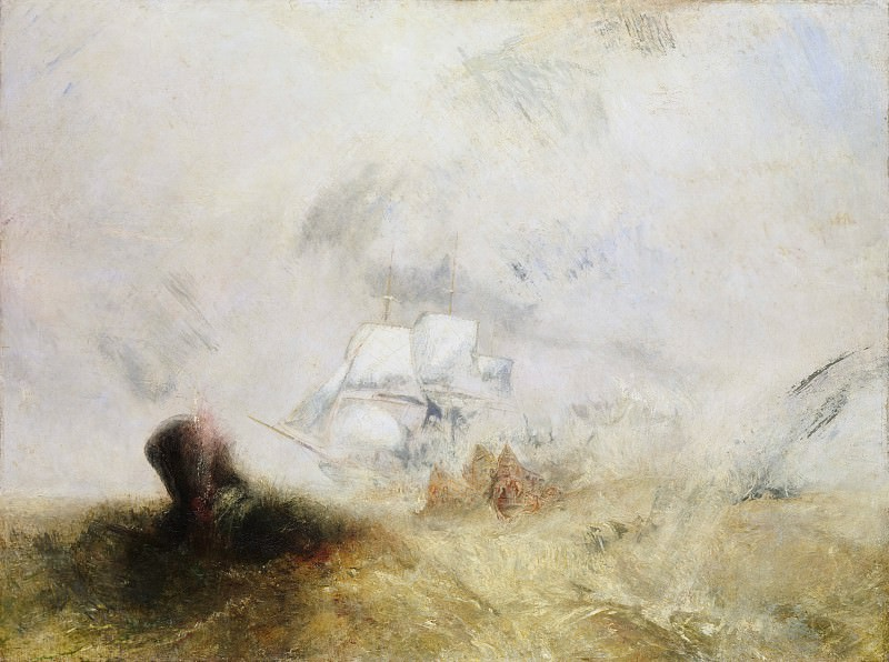 Joseph Mallord William Turner - The Whale Ship. Metropolitan Museum: part 3