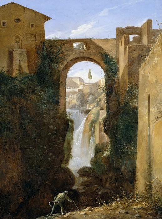 François-Marius Granet - Ponte San Rocco and Waterfalls, Tivoli. Metropolitan Museum: part 3