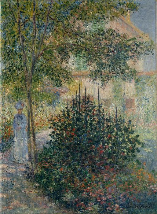 Claude Monet - Camille Monet (1847–1879) in the Garden at Argenteuil. Metropolitan Museum: part 3