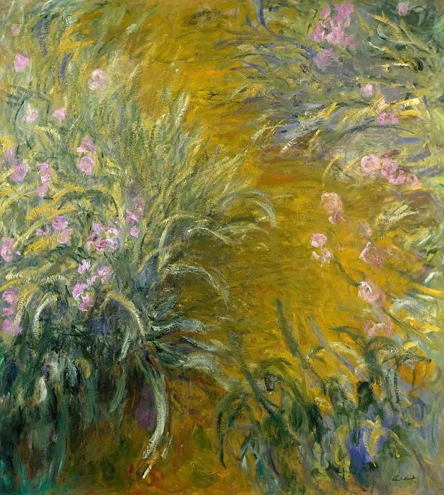 Claude Monet - The Path through the Irises. Metropolitan Museum: part 3
