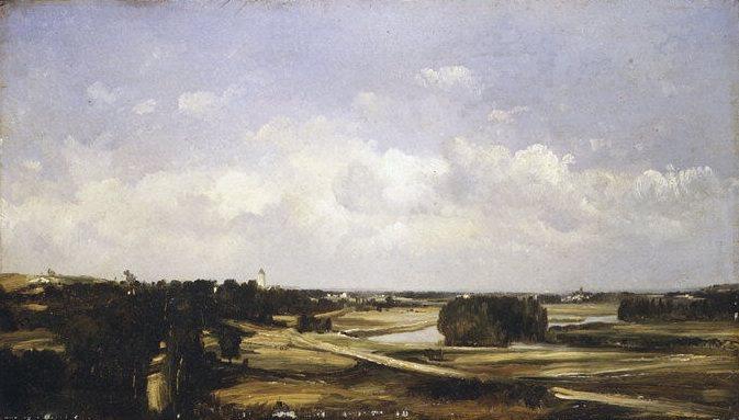 Jules Dupré - Valley of the River Loire. Metropolitan Museum: part 3