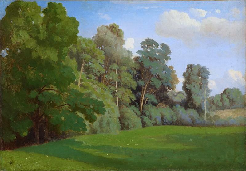 Théodore Caruelle d'Aligny - Edge of a Wood. Metropolitan Museum: part 3