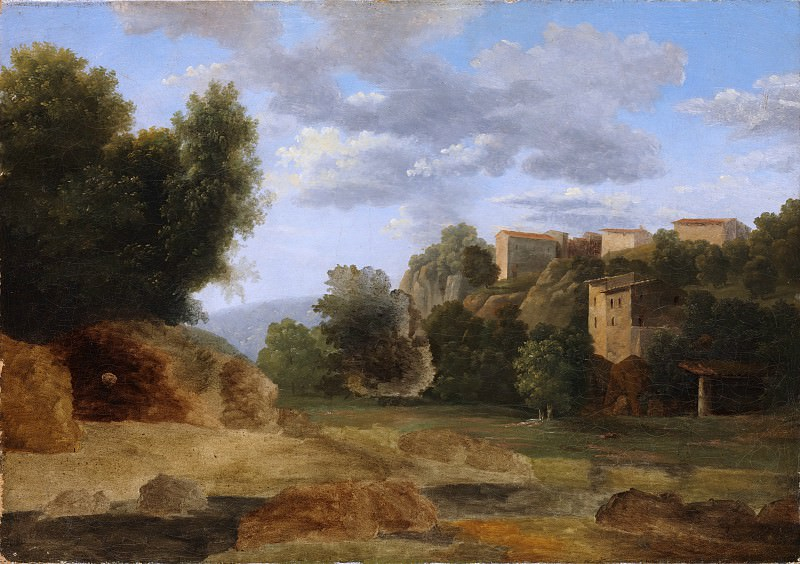Jean-Victor Bertin - Landscape. Metropolitan Museum: part 3
