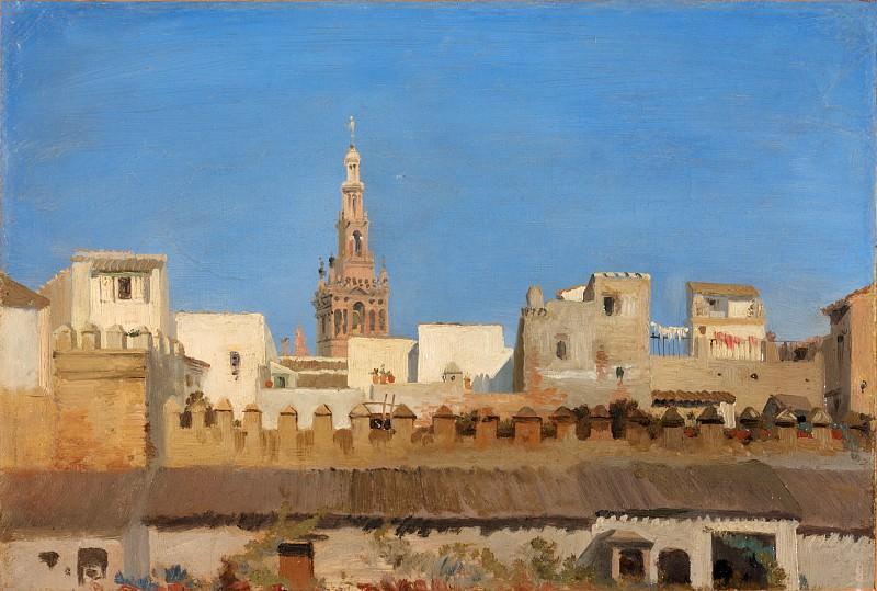 Adrien Dauzats - The Giralda, Seville. Metropolitan Museum: part 3