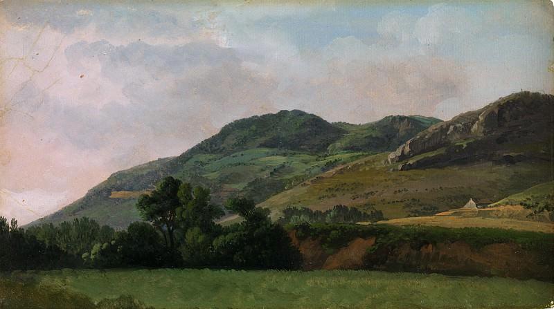 Simon Denis - Mountainous Landscape at Tivoli. Metropolitan Museum: part 3