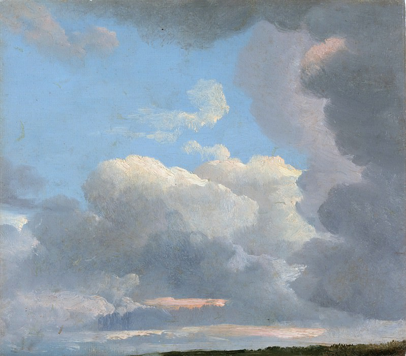 Simon Denis - Cloud Study (Early Evening). Metropolitan Museum: part 3