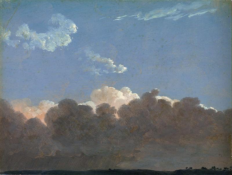 Simon Denis - Cloud Study (Distant Storm). Metropolitan Museum: part 3