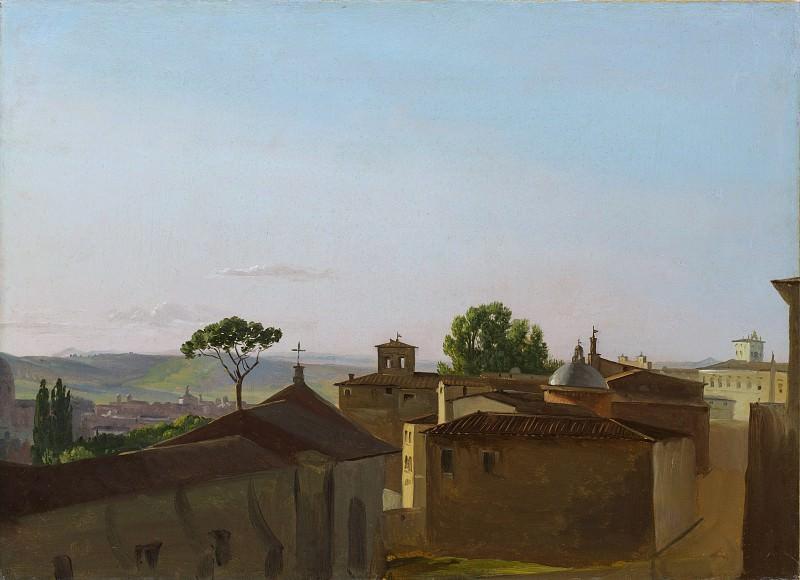Simon Denis - View on the Quirinal Hill, Rome. Metropolitan Museum: part 3