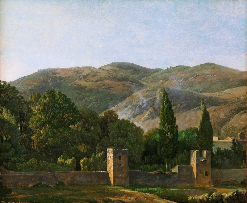 Simon Denis - Fortified Wall, Italy. Metropolitan Museum: part 3