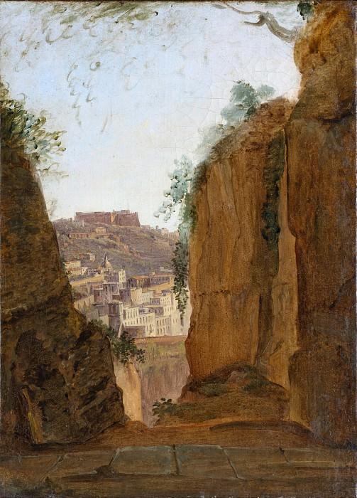 Franz Ludwig Catel - Virgil's Tomb, Naples. Metropolitan Museum: part 3