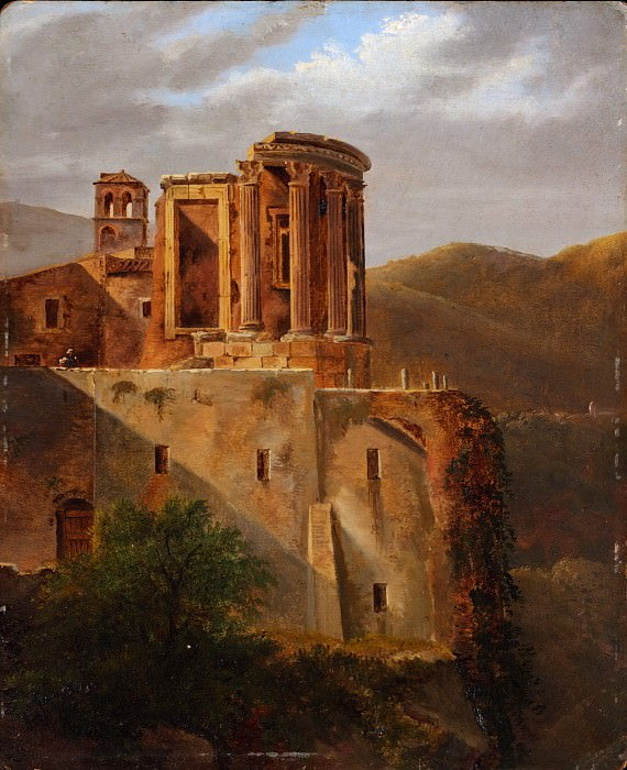 French Painter - The Temple of Vesta, Tivoli. Metropolitan Museum: part 3
