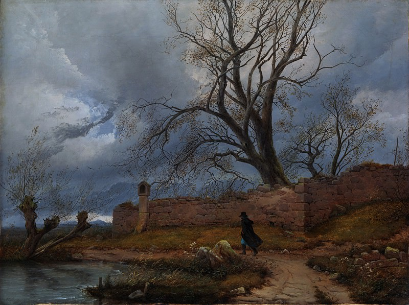 Julius von Leypold - Wanderer in the Storm. Metropolitan Museum: part 3