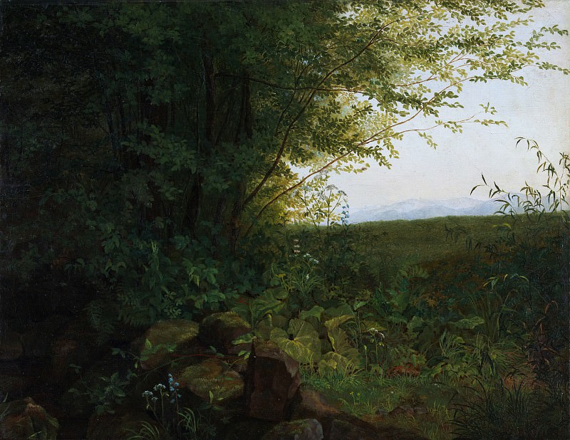 August Heinrich - At the Edge of the Forest. Metropolitan Museum: part 3
