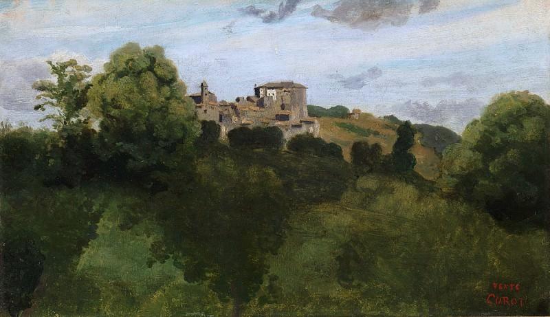 Camille Corot - View of Genzano. Metropolitan Museum: part 3