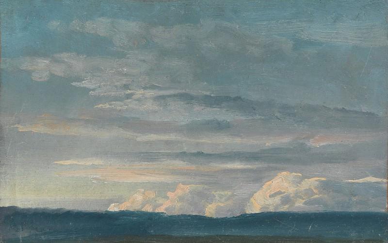 Johan Christian Dahl - Cloud Study. Metropolitan Museum: part 3