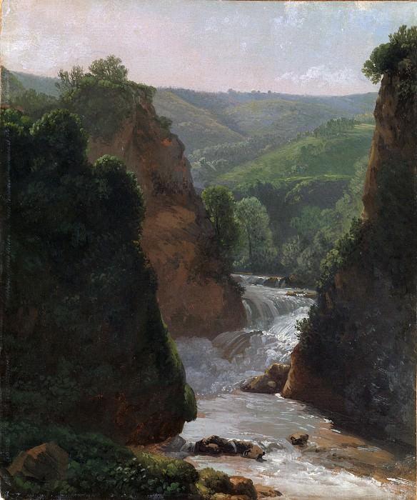 Simon Denis - Aniene River at Tivoli. Metropolitan Museum: part 3