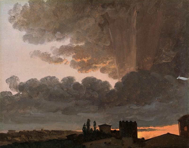 Simon Denis - Sunset, Rome. Metropolitan Museum: part 3