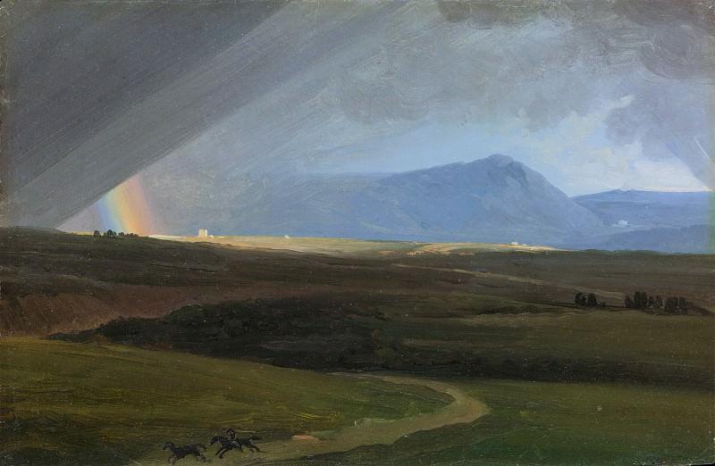 Simon Denis - Landscape near Rome during a Storm. Metropolitan Museum: part 3