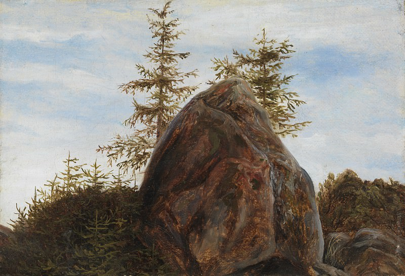 Thomas Fearnley - Monolith and Trees. Metropolitan Museum: part 3